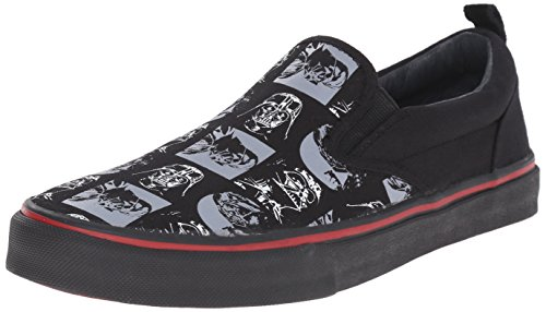 Skechers Imperial guard Uomo Tela Scarpe ginnastica, Black/Grey/Red, US 13|UK 12|EU 47.5