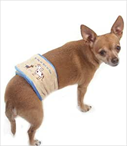 Amazon.com : To Pee Or Not To Pee Belly Band for Dogs - XS