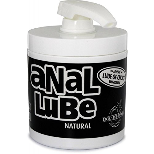 Doc Johnson Natural Numbing Lubricant - Desensitizing Anal Lube - 4.5oz