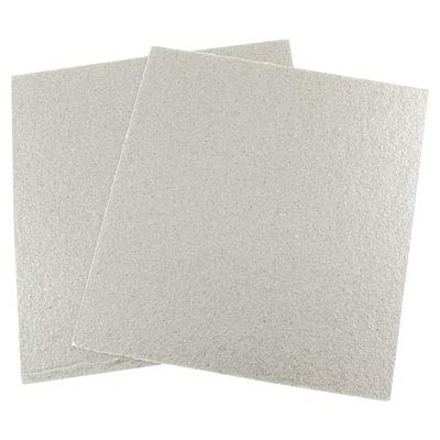 uxcell® Mica Plates Sheets Microwave Oven Repairing Part 13 x 12cm 2 Pcs SYNCELEC009917