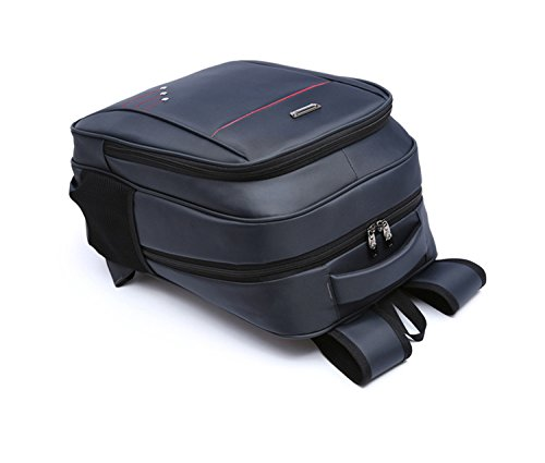 Laptoptasche bis 14.5 Zoll Aktentasche Geschäftsrucksack gepolsterter Rucksack für Tablet PC Computertasche Notebook Schwarz cKLPiZbL68