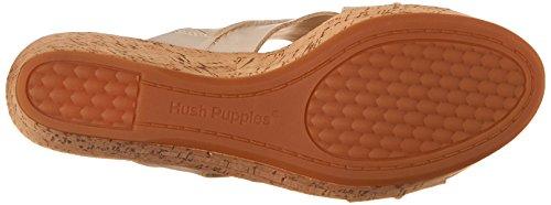 Hush Puppies Belinda de la mujer durante sandalias de plataforma Off-White Leather
