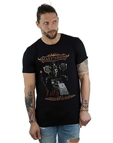 Absolute Cult Mastodon Men's Emperor of Sand T-Shirt Black X-Large from ABSOLUTECULT