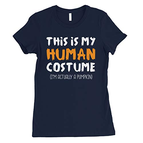 365 Printing This is My Human Costume Shirt Womens Hilarious Halloween T-Shirt -