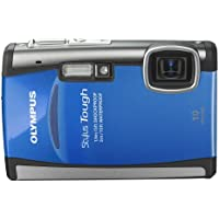Olympus Stylus Tough-6000 10 MP Waterproof Digital Camera with 3.6x Wide Angle Optical Dual Image Stabilized Zoom and 2.7-Inch LCD (Blue) (Discontinued by Manufacturer) Advantages Review Image