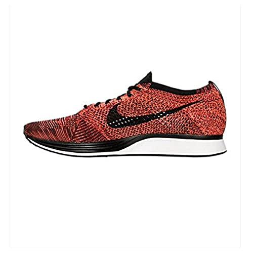 Nike Men's Flyknit Racer Red/Black 526628 608 Size 8 'Fire Rooster' durable