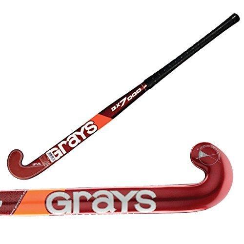 GRAYS GX7000 Field Hockey Stick Bundle with Chamois Grip (38 Inches) ()