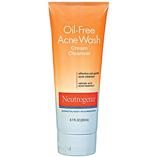 Neutrogena Oil-Free Acne Wash Cream Cleanser, 6.7 ()