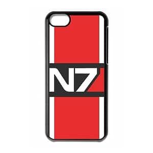 Mass Effect iPhone 5c Cell Phone Case Black dojz