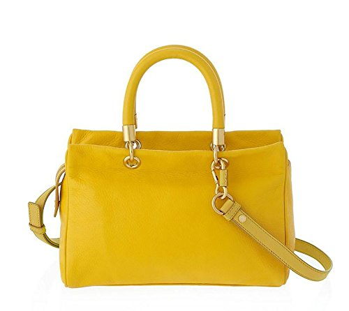 To Satchel Yellow by Hot Marc Too Marc Jacket Handle Jacobs qxXwFTv0a