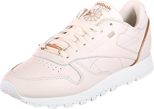 Classic Leather Donna Reebok Sneaker rosa Hardware qAUB8