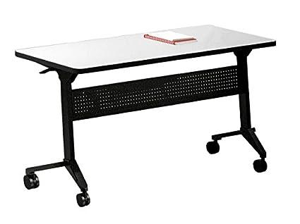 Amazoncom Mayline Rectangle Training Table Dimensions W X - Training table dimensions