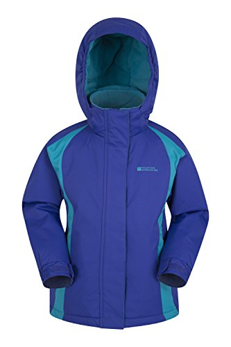 Mountain Warehouse Honey Kids Ski Jacket - Cool Childrens Winter Coat Purple 11-12 years