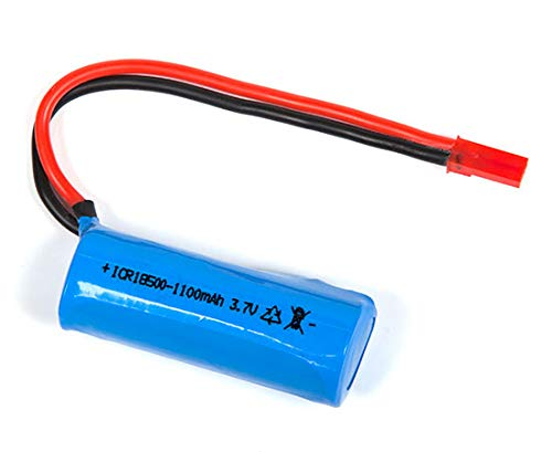 (HIZLI) REPLACE PARTS) FOR LiPo 3.7V 1100mAh Battery For GYRO Hercules Unbreakable RC Helicopter ZX-35850 SKU: ZX-35850-BATT