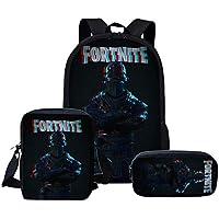 Fortnite backpack Students School Bag Set single-shoulder bag with pencil case