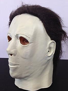 infantil Michael Myers Halloween Terror Máscara Completo de látex Película calidad con pelo