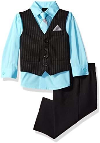 Van Heusen Baby Boys' Stripe Vest Set