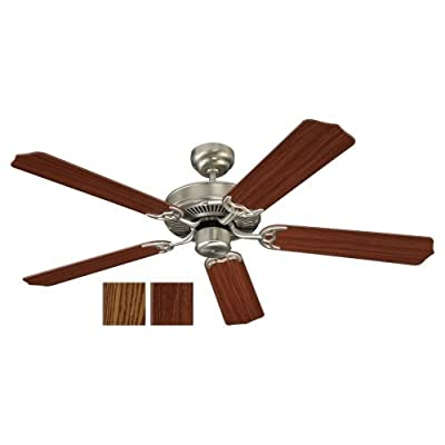 "Sea Gull Lighting 15030-02, Quality Max Polished Brass Energy Star 52"" Ceiling Fan"