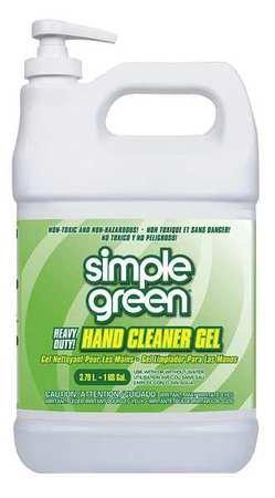 Hand Cleaner, Gel, Sassafras, 1 gal. - Simple Green Hand Cleaner
