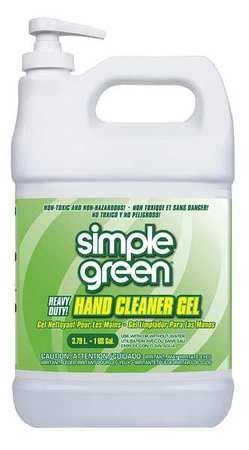 Hand Cleaner, Gel, Sassafras, 1 gal.