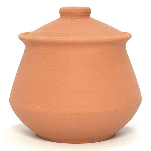 unglazed clay pot cookware - 4