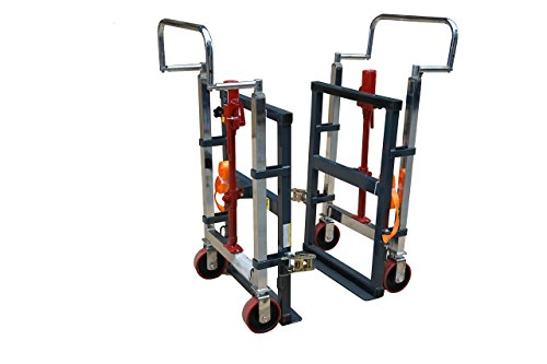 Pake Handling Tools - Hydraulic Furniture Mover Set, 3960 lbs Capacity (Set of 2)