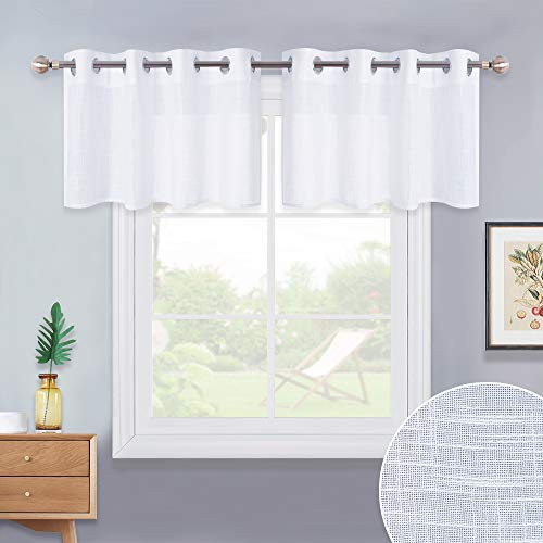 NICETOWN Linen Textured Translucent Valances - Small for sale  Delivered anywhere in USA