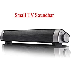Jumphigh Sound Bar Wireless Subwoofer 3.0 Bluetooth Speaker 10W Small TV Soundbar Bluetooth Receiver Stereo Super...