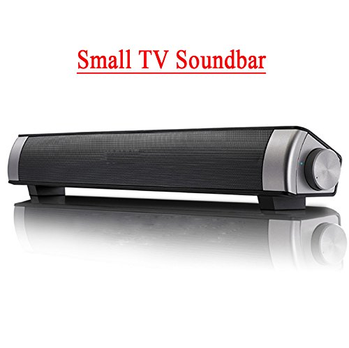 Jumphigh Conservative Bar Wireless Subwoofer 3.0 Bluetooth Speaker 10W (2×5W) Small TV Soundbar Bluetooth Receiver Stereo Super Bass Altavoz Ducha (3.5mm audi wire support only for TV)
