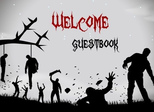 Halloween Guestbook: Scary Themed Halloween Party Guest Sign in Book, Zombie Theme (Halloween Themed Guest Book) (Volume 20)