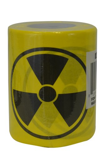Fairly Odd Novelties Toxic Nuclear Novelty Toilet Paper