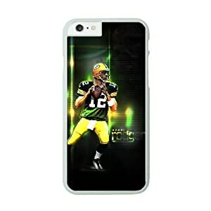 NFL Case Cover For SamSung Galaxy S6 White Cell Phone Case Green Bay Packers QNXTWKHE0943 NFL Plastic Clear Phone Case
