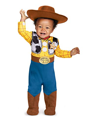 Infant Toddler Costumes For Halloween (Disguise Baby Boys' Woody Deluxe Infant Costume, Multi, 12-18)