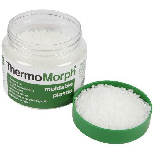 ThermoMorph - Moldable Plastic Pellets: Reheatable - Reusable - Remoldable - Crafting Plastic: Moldable Sculpting Plastic: Heat Pliable, Cool Hard