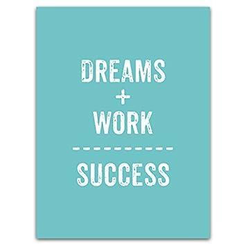 Meishe Art Motivierende Zitate Poster Drucke Kunst Träume