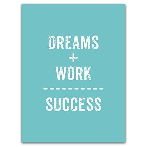 Motivational Quotes For Work Success | Amazon Com Motivational Quotes Posters Prints Art Dreams Work