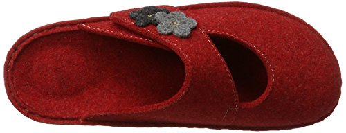 Hans Herrmann Collection Hhc - Mules Mujer Rojo (Rosso)