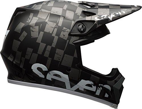 Bell MX-9 MIPS Off-Road Motorcycle Helmet Seven Checkmate Matte Black, X-Large