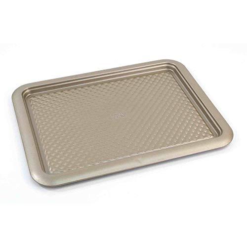 (Chicago Metallic 5228797 Arch Textured Non-Stick Large Cookie Baking Sheet, 11.5