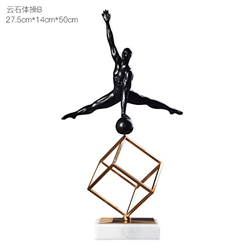 Creative Metal Modern Tv Cabinet Decoration Soft Decoration Home Furnishing Living Room Cabinet Office Decoration Room Marble Gymnastics B