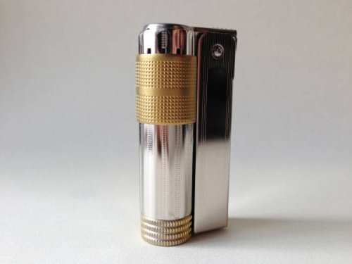 IMCO of Austria Super Triplex Engravable Gold Cigarette Lighter