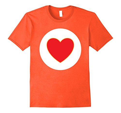 Easy Group Costume Ideas For Halloween - Mens Halloween Easy Costume Group T-Shirt Idea 2XL Orange