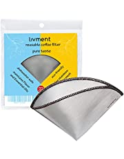 livment eco stainless steel filter