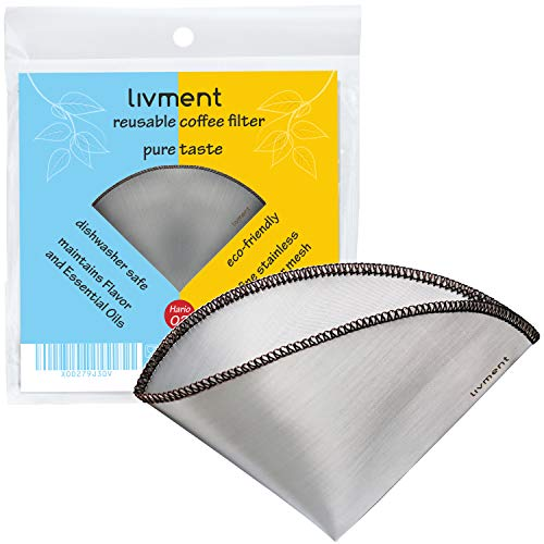 livment Reusable Coffee Filter Stainless product image