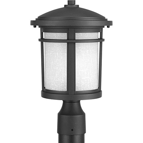 Progress Lighting P6424-31 Traditional/Casual 1-100W Med Post Lantern, (Post Lights Progress Lighting)