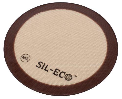 Parchment Paper Pizza (Sil-Eco E-99124 Non-Stick Silicone Baking Liner, 9