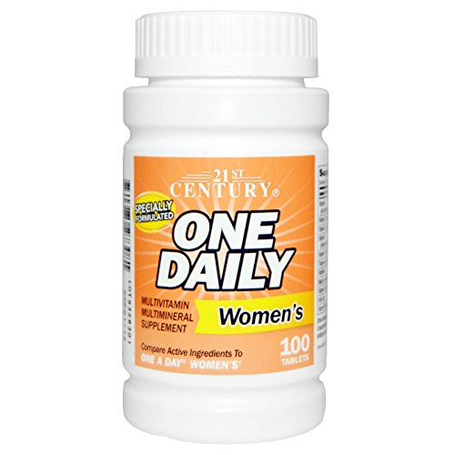 One Daily 50+ Women's, 100 Tablets, 21st Century