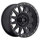 "Method Race Wheels 304 Double Standard Matte Black 18x9"" 6x5.5"", 18mm offset 5.75"" Backspace, MR30489060518"