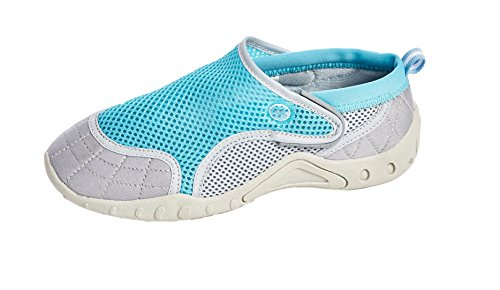 Water US Shoes Style Aqua Closure with Shoes Beach High 10 Women's Velcro Women Bluegrey HUqntPt