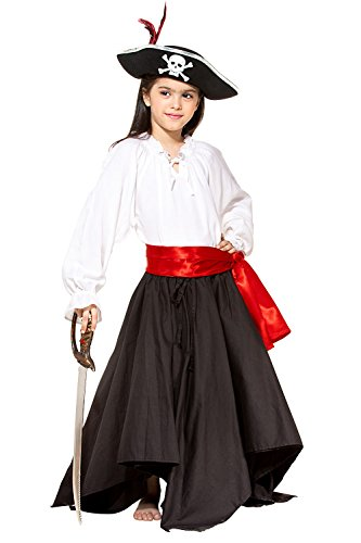 Child's Renaissance Medieval Costume Skirt (Medium (6-8 yrs))
